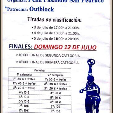 I Trofeo San Pedruco