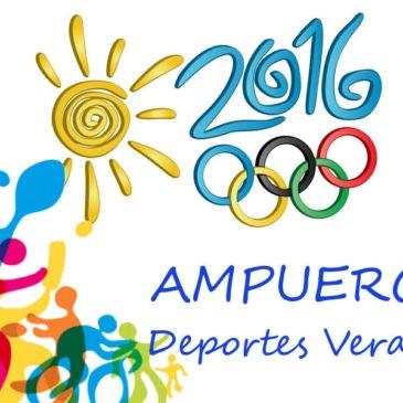 Actividades Deportivas Verano 2016