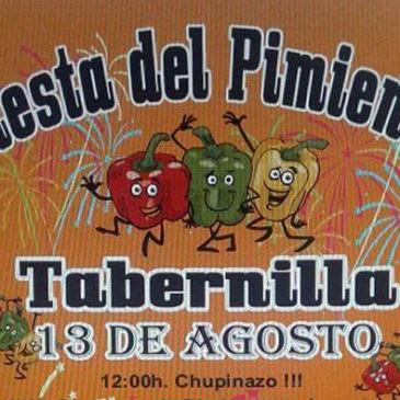 Fiesta del Pimiento Tabernilla 2016