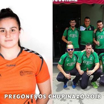 Los pregoneros del Chupinazo 2018