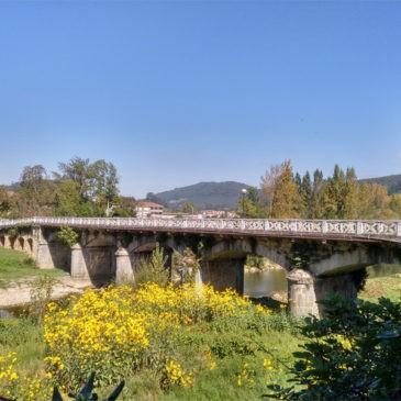 Obra en el puente de Marrón